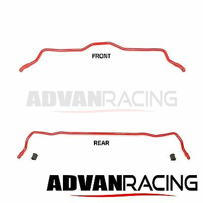 Anti-Sway Bar For Mitsubishi Eclipse 1995-99, FRONT+REAR, Chromoly Alloy