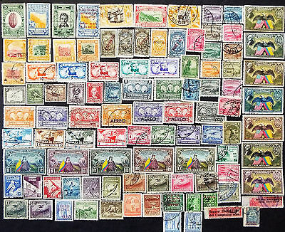 Ecuador Stamps From 1930 To 1939