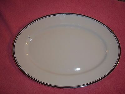 Pure Platinum Platter BY ROYAL DOULTON  NEW NEVER USED GB