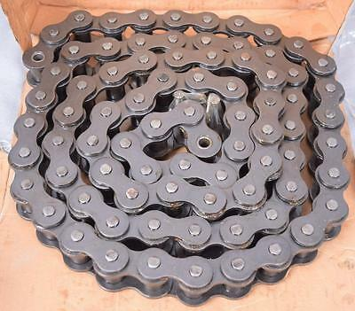 NEW NIB Morse 120 Roller Chain 10ft Riveted Single Strand HEAVY DUTY FREE SHIP