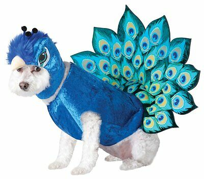 Peacock Dog Costume - Animal Planet - Size Small