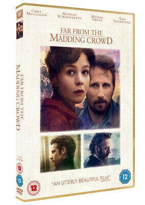 Far from the Madding Crowd DVD (2015) Carey Mulligan
