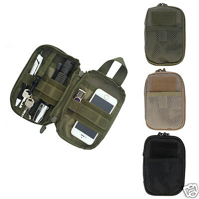 Hiking Camping Mini Bag Army Military Tactical EDC Pack Pouch Case Bags Portable