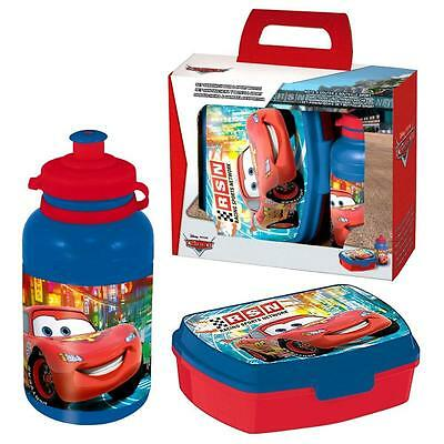 Disney Cars - Set Sandwich Box Lunchbox & Sport Bottle
