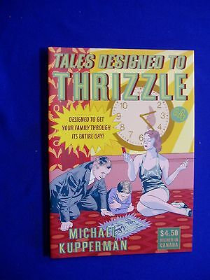 Tales Designed to Thrizzle 4: Michael Kupperman .: underground.  Ist print. NM.