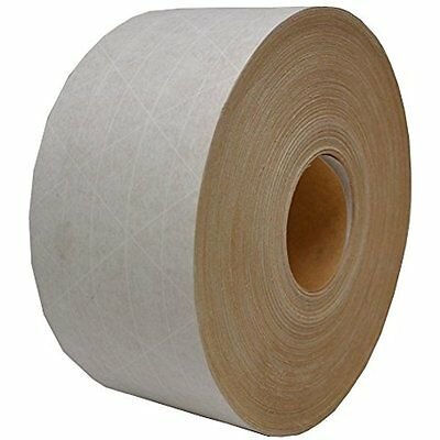"""3"""" x 450 White Water Activated Reinforced Paper Tape (1 Roll) -"""