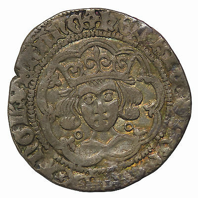 Great Britain Henry VI 1422-1461 AD Silver Groat Medieval Coin