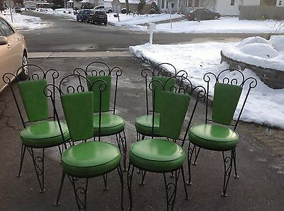 Mid Century Dinette 6 Chairs & Table LOCAL PICKUP LONG ISLAND, NY