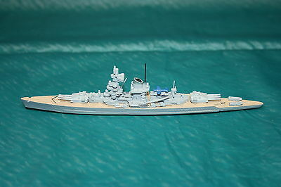 Waterline 1250:1 scale DGM model S115 Heavy Cruiser Admiral Scheer