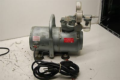 Fisher Scientific Vacuum Pump w/ G.E. Motor TESTED & WORKING