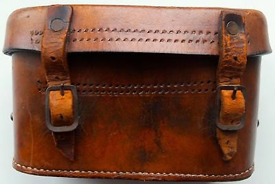 Unknown Army Leather Ammo Pouch Bandolier