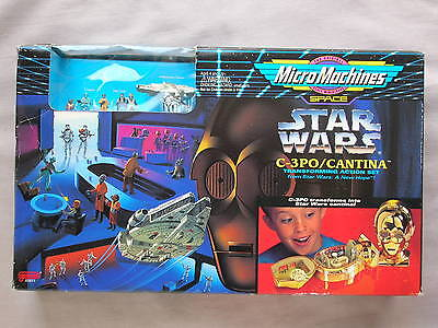 STAR WARS C-3PO CANTINA Micro Machines Transforming Action Set SEALED NEW HOPE