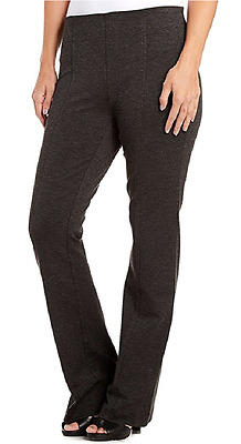 Gloria Vanderbilt Women's Jolie  Stretch Ponte Pants Grey Heather