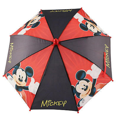 New Disney Mickey Mouse Umbrella - Red/Black Model:25545577