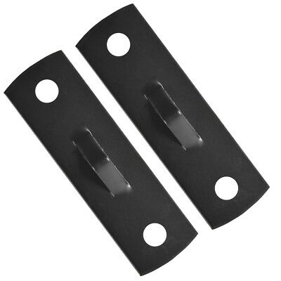 Forza MMA Double End Bag Floor and Ceiling Mount Brackets - Black