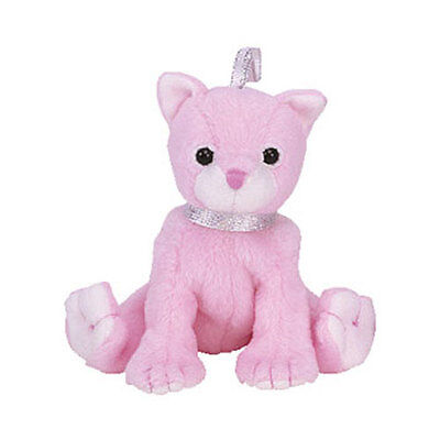 TY Basket Beanie Baby - CARNATION the Cat (4 inch) - MWMTs Easter Stuffed Toy