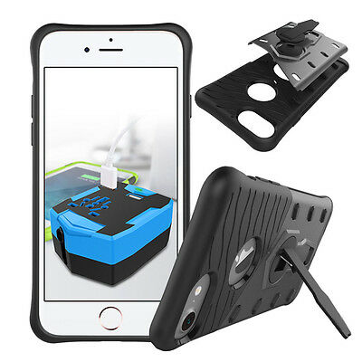 Pack of 14 Wholesale Shockproof Sniper Hybrid Case Cover Stand For iPhone 7