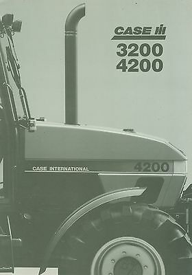 1995 Case Ih 3200 & 4200 Specification Brochure