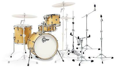 Gretsch CT1-R444 Catalina Club Satin Natural Set Schlagzeug Flat Base Hardware