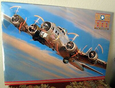 2007 Ghosts Ww2 Airplanes Calendar Huge Frame-Able Pics Factory Sealed Scarce