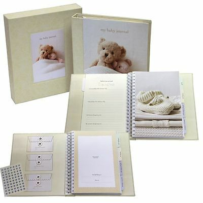 Ryland Peters & Small MY BABY'S JOURNAL DELUXE UNISEX Baby Record Book BN
