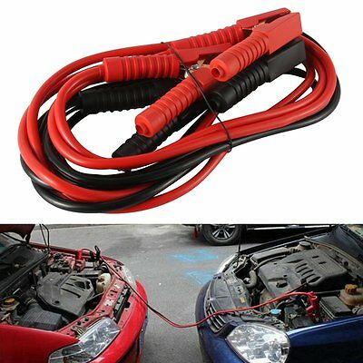 New 10FT 2 GA Booster Jumper Cables Auto Car Jumping Cables Heavy Duty Gauge Set
