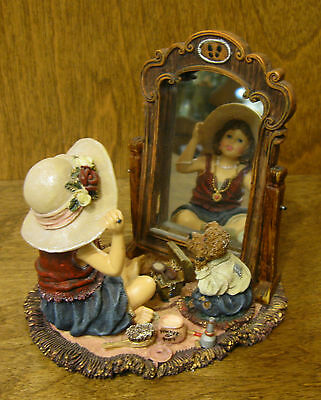 Boyds Dollstone #3548 MIRANDA w/ MARY K... PRETTY AS A PICTURE From Retail Store