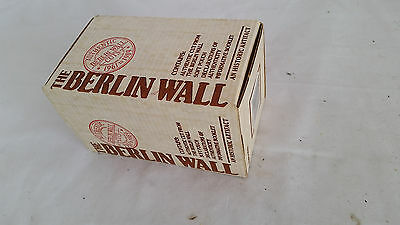 Souvenir 0f Berlin Wall,Historic Artifact,Declaration of Origin &  Authenticity
