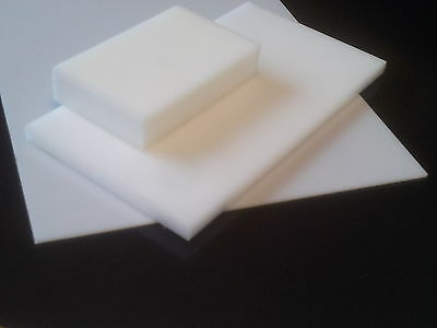 Delrin Sheet 10 mm thick various standard sizes white