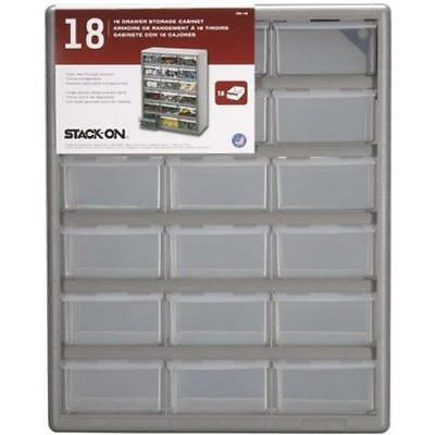Stack-On DS-18 18 Drawer Storage Cabinet New