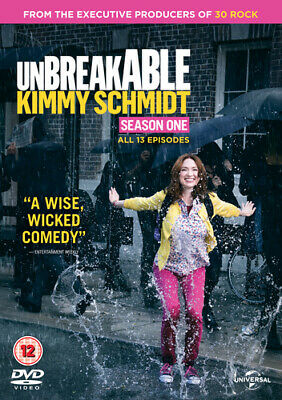 Unbreakable Kimmy Schmidt: Season One DVD (2016) Ellie Kemper