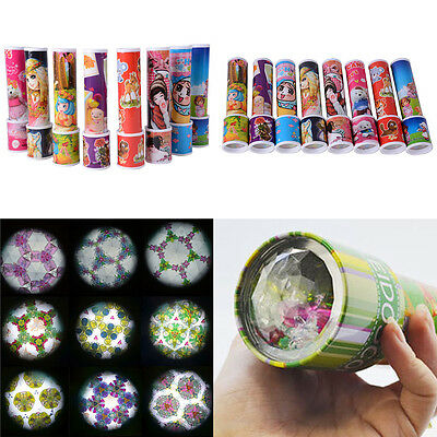 Cartoon 3D Kaleidoscope Paper Cover Colourful Toys Interactive Toys Kids Gift 1x