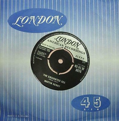 "Martin Denny(7"" Vinyl)Martinque-London-45-HLW 8976-UK-1959--Ex/Ex"