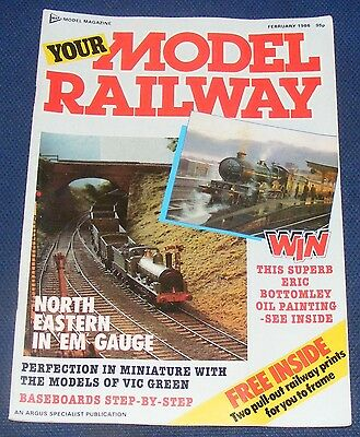 Your Model Railway  February 1986 - Lord Nelson