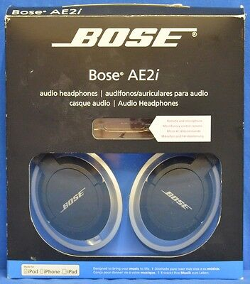 Bose AE2i Black Audio Headphones for Smart Devices