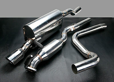 Stainless Steel Exhaust System Hi Flow Cat For Ford Fiesta St Mk6 2.0 16V St150