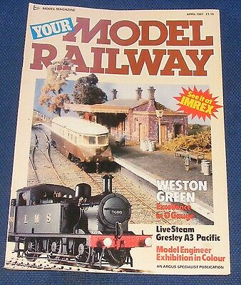 Your Model Railway  April 1987 - Weston Green