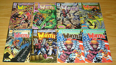 Wrath #1-9 VF/NM complete series +giant-size + silver ultra limited 5000 variant