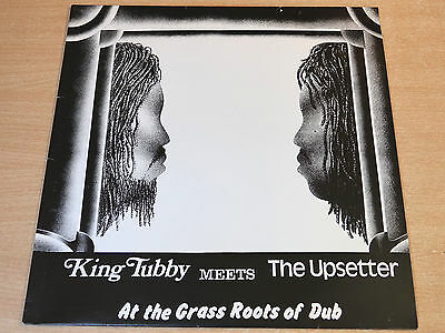 EX/EX !! King Tubby Meets The Upsetter/At The Grass Roots Of Dub/2005 LP