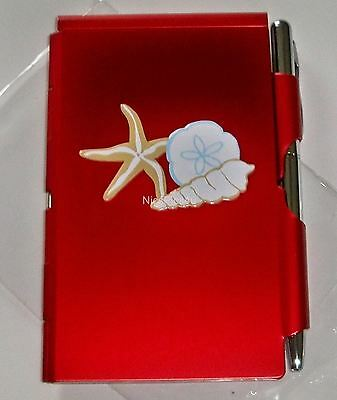 Wellspring Flip Note w/ Pen - Coastal Starfish 1610 Pad Paper Organizer Orange