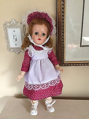 IDEAL TONI DOLL P-91 15 INCH FULLY DRESSED DOLL 1950's