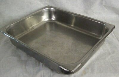 "Restaurant Equipment 1/2 SIZE STAINLESS STEEL STEAM TABLE PAN 2"" DEEP"
