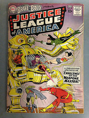 The Brave And The Bold (1960) #29 2Nd Appearance Justice League Of America Flash