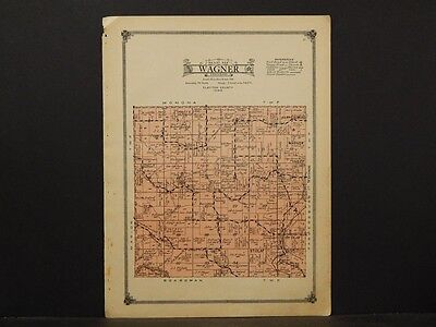 Iowa, Clayton County Map, Wagner Township 1914.  Y2#82