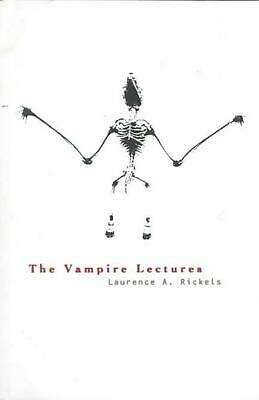 Vampire Lectures by Laurence A. Rickels (English) Paperback Book Free Shipping!