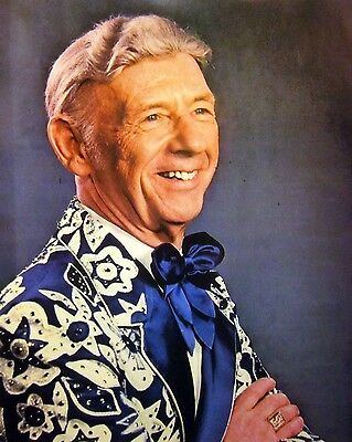HANK SNOW I'm Movin' On country clipping 1980s color photo Grand Ole Opry yodel