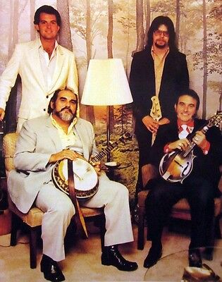 OSBORNE BROTHERS Sonny & Bobby clipping 80s color photo Grand Ole Opry bluegrass