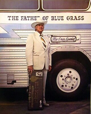 BILL MONROE Father of Bluegrass country clipping 80s color photo Grand Ole Opry