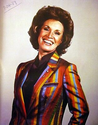 JANE HOWARD country clipping 1980s color photo Grand Ole Opry rainbow 8 x 10