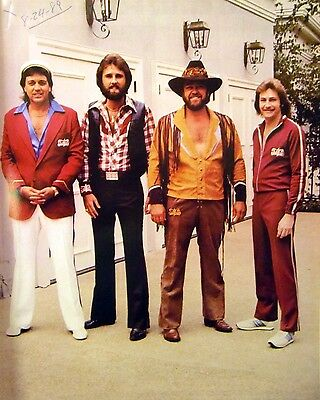 4 GUYS Sam Wellington country clipping 1980s color photo Grand Ole Opry 8 x 10